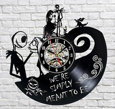 The Nightmare Before Christmas_Exclusive wall clock made of vinyl record_GIFT