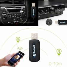 3.5mm USB Bluetooth Stereo Audio Music Transmitter Receiver Dongle Fr Phone iPad