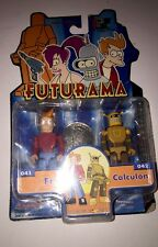 Futurama l'i-MEN COLLEZIONE Fry & calculon 2 Figura Pack by Toynami