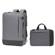 """Streamlined 15"""" Laptop Hybrid Briefcase Backpack Notebook Business Messenger Bag"""