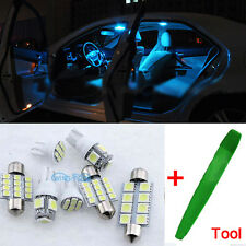 7Pcs LED Interior Premium Kit Ice Blue Error Free SMD Bulbs Seat Leon MK2 1P