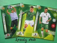 Copa america chile 2015 Team mate bolivia all 5 base cards Adrenalyn Panini