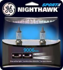 Headlight Bulb-Nighthawk Sport Twin Blister Pack Front GE Lighting 9006NHS/BP2