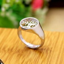 925 Sterling Silver Ring for Men 13X13mm Round Cabochon Semi Mount Fashion Ring
