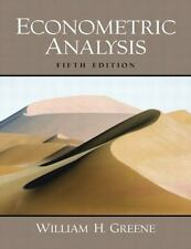 Econometric Analysis (5th Edition) by Greene, William H.