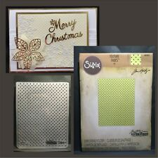 Small Dots embossing folder - Sizzix Tim Holtz embossing folders All Occasion