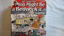 You Might Be A Redneck If Game - Jeff Foxworthy - New Sealed