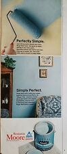 1966 Benjamin Moore Aqua Turquoise Can Paint Perfectly Simply Perfect Ad