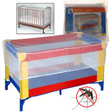 UNIVERSAL MOSQUITO COT SAFETY NET BABY KIDS PROTECTOR CRIB NETTING MESH CURTAIN