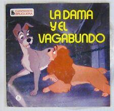 Walt Disney 45 tours La belle et le clochard Pressage espagnol