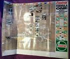 Collectable Castrol Oils Grand Prix Formula 1 History Extra Large Poster *RARE*