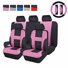 CAR PASS Auto Car Seat Covers Interior Accessories  car seat covers pink color
