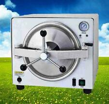 18Liter Dental Medical autoclave Steam Pressure Sterilizer sterilizition 2017