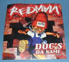 DOC'S DA NAME 2000  I'LL BEE DAT + THE GOODNES Poster Only No LP