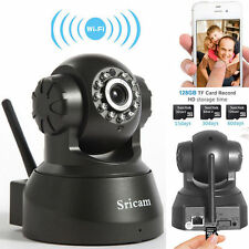 Sricam 720P HD Wireless WiFi IP Camera Pan/Tilt Security P2P Network Webcam New