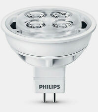 Philips GU5.3 LED Bulb 4.2W 20Watt Warm White 225lm 2700K Low Voltage 12V MR16