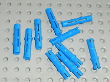 LEGO technic 10 blue pins ref 6558 / sets 8258 10212 8053 8109 8070 8943 8547 ..