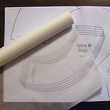 "SEWABLE SWEDISH TRACING PAPER FABRIC Patternmaking 29"" x 10 yd  Master Patterns"