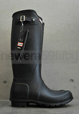 Hunter original tall wellington boot-Noir