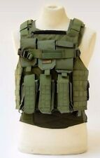 TV8029 Marom Dolphin AMRAN Semi Modular Green Tactical Vest