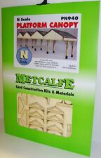 Metcalfe PN940 Platform Canopy, Laser Cut Card Kit  (N) Railway Model