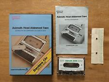 COMMODORE 64 (C64) - AZIMUTH 3000 HEAD ALLIGNMENT TAPE - PROGRAM CASSETTE