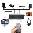HDMI SWITCH 4x1 To 1080P HDMI + Audio Optical Coaxial Stereo Extractor Converter