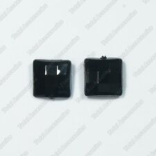 Square Textured Magnet Stud Earrings - Magnetic Mens Womens Fashion - NEW
