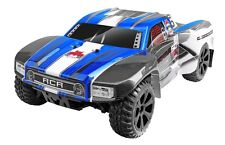 REDCAT RACING BLACKOUT SC 1/10 SCALE ELECTRIC SHORT COURSE TRUCK 4x4 BLUE RC CAR