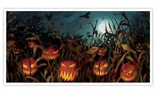 5ft Halloween Il Male Banner Zucca Festa Decorazione Campo di urla scena POSTER