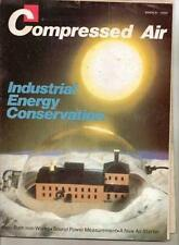 Compressed Air  Magazine.  Industrial Energy Conservation –  March 1980
