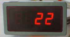 Universal 12V calibre de temperatura, 1300 Celsius/Rojo Fahrenheit. pantalla. EGT