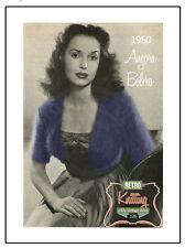 1950 Angora Bolero Knitting Pattern
