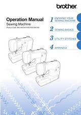 BROTHER CE 1100PWR SEWING MACHINE Instruction Manual/ Users Guide * CD / PDF