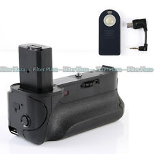 Pro Multi Power Battery Grip Holder For Sony Alpha A6000 Camera BG-3DIR w/Remote
