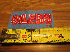 HOUSTON OILERS  PATCH 3.5 INCHES SWEET PATCH