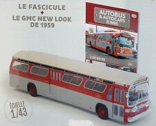 "Bus GMC New Look 1959 ""Fishbowl""   1:43 New & Box diecast model"
