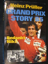 Peters' Book Grand Prix Story 85 Bedankt Niki Heinz Prüller (Nederlands)