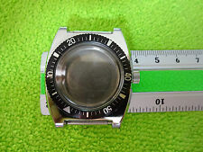 VINTAGE OLD STOCK WATCH CASE BEZEL NEW UNUSED DIVER STYLE ETA SEAMASTER PEPSI B5