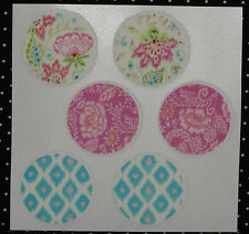 Garden Design Cupcake Stickers,Edible Image Rice Paper,Mulit-Color, DecoPac