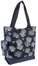 Large Canvas Tote Bag Teacher Nurse Gym Shopping Bookbag Diaper Handbag Purse