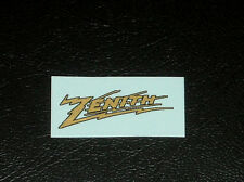 Zenith Radio Logo Water Slide Decal - Old Antique Wood Vintage Tube Radio Parts