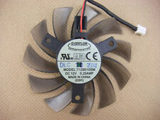 NEW 75mm 12V 0.2A 2pin T128010SM Fan VGA Video card GTX580 GTX670 560ti #M719 QL