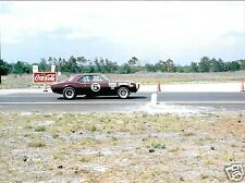 CHEVROLET CAMARO Z28 ROBERT BOB BROWN SEBRING 4 HOURS 1967 PHOTOGRAPH FOTO