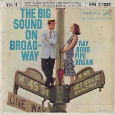 RAY BOHR Pipe Organ  The Big Sound On Broadway Vol. II  7 inch EP 1957 RCA