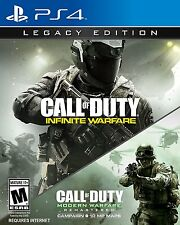 NEW Call of Duty: Infinite Warfare -- Legacy Edition (Sony PlayStation 4, 2016)