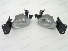 1Pair New Front Bumper Fog Lights Fog Lamps For Honda Accord Crosstour 2010
