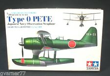 1/50 Type-0 Pete Tamiya Navy Observation Seaplane New Factory Sealed MA111
