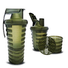 Smart Shaker Grenade 20 oz (600ml) Powder & Capsule Storage + 4 Capsules Trial