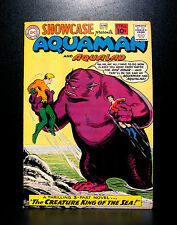 COMICS: DC: Showcase #32 (1961), Aquaman & Aqualad app - RARE (batman/flash)